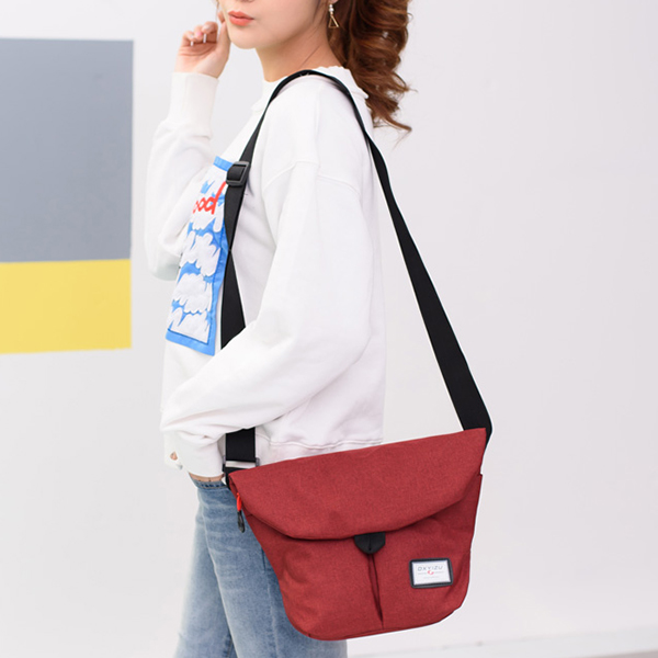 Women Leisure Oxford Waterproof Crossbody Bag