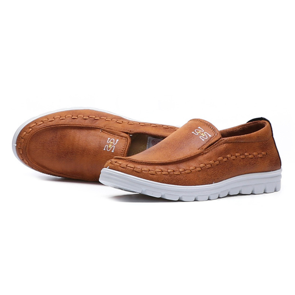 US Size 6.5-11.5 Men Shoes Cotton Blend Slip On Casual Outdoor Flats