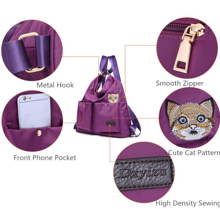 Cat Pockets Bag