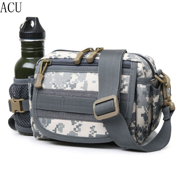 Men Women, Nylon Outdoor Climbing, Multifunctional Tactical Bag, Camo Crossbody Bag