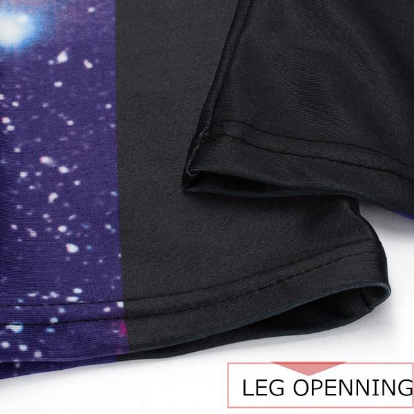 Women 3D Galaxy Print High Waist Yoga Leggings Stretch Trouser Running Gymswear