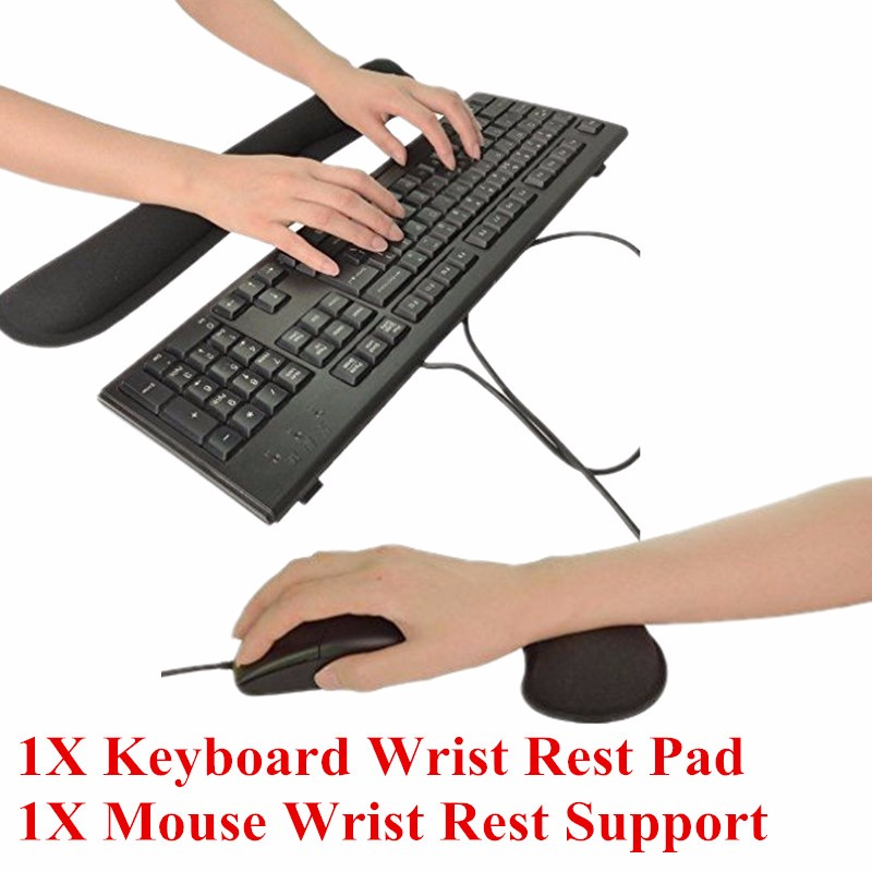how to clean keyboard and mouse pad