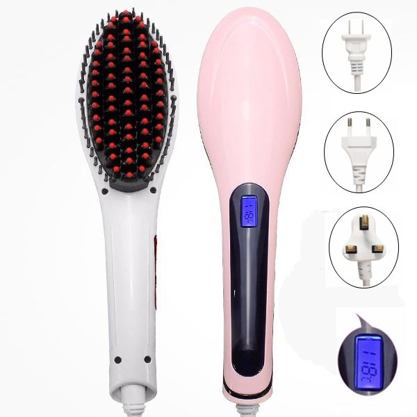 3 Plugs Hair Straightener Comb