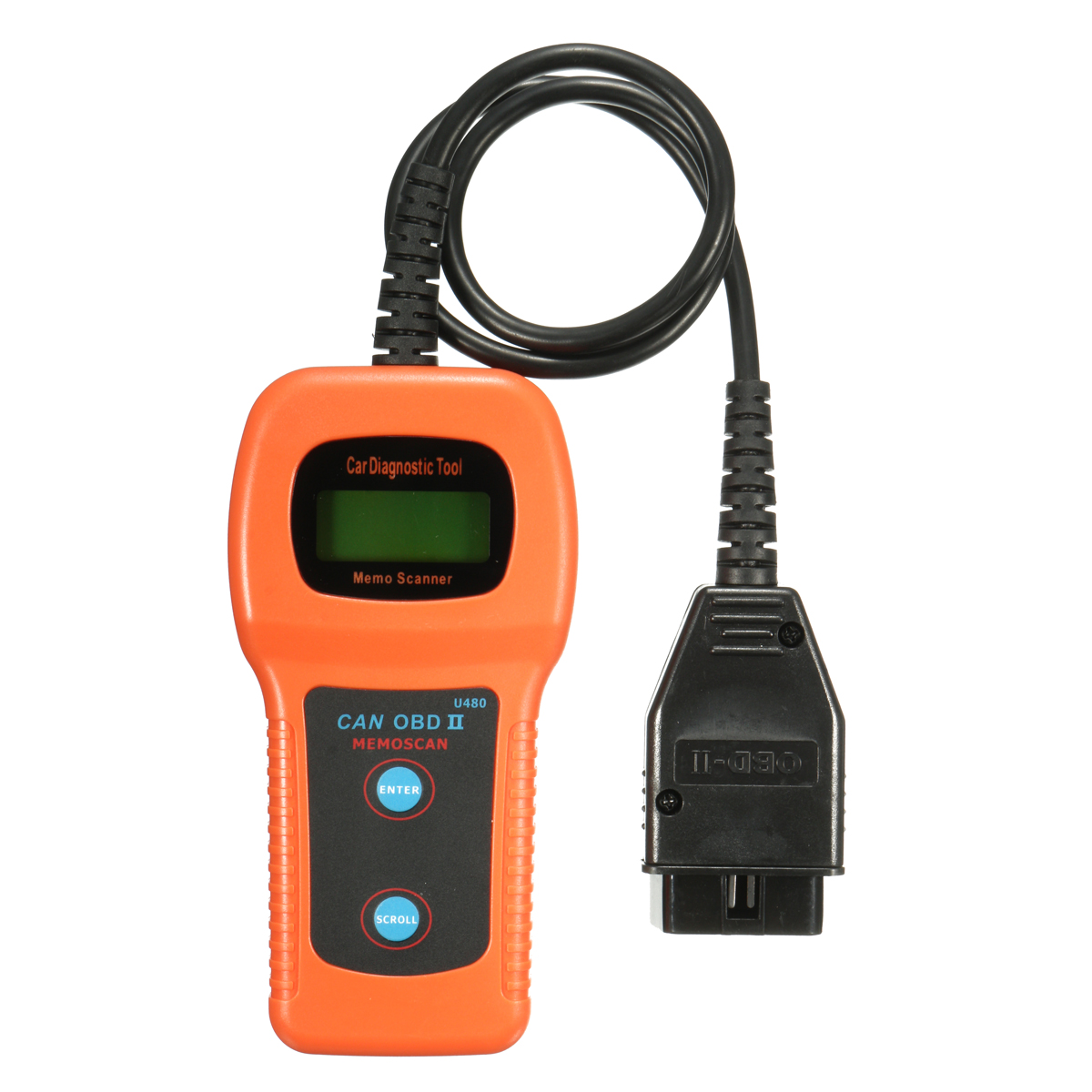 Car Diagnostic Scanner Tool U480 CAN OBDII OBD2 Memo Engine Fault Code Reader   Alexnld.com