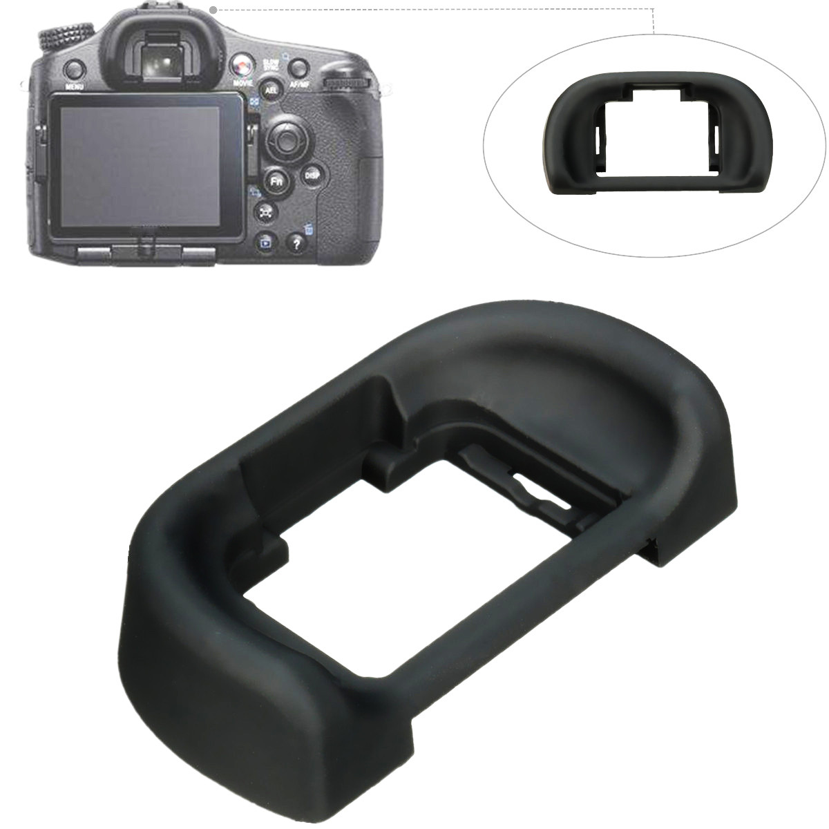 Eye Cup Viewfinder Eyepiece FDA-EP11 For Sony Alpha A77 A58 A65 SLT-A7 A7R A57