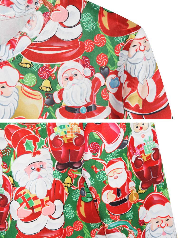 Casual Christmas Party 3D Printing Long Sleeve O-Neck Women Sweatshirt