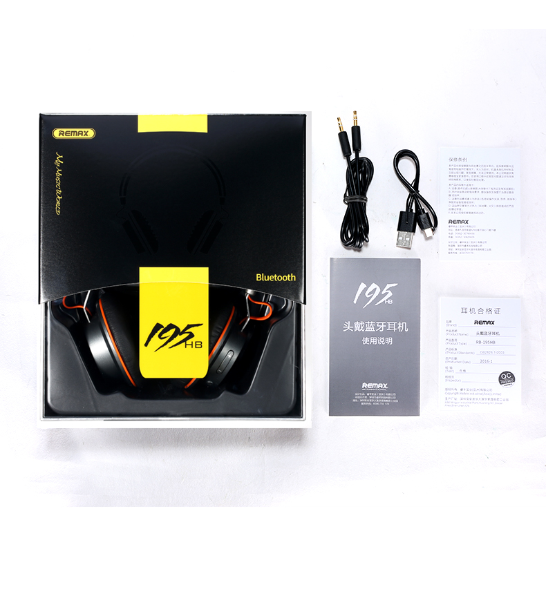 Remax Rb-195HB Bluetooth Headphone