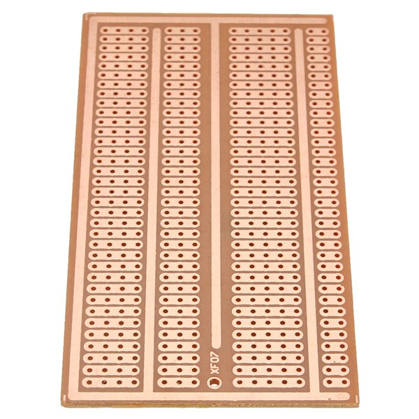 1Pc 5X10cm Single Side Copper Prototype Paper PCB Breadboard 2-3-5 Joint Hole double sided prototyping pcb universal board 6 x 8cm 5 pcs