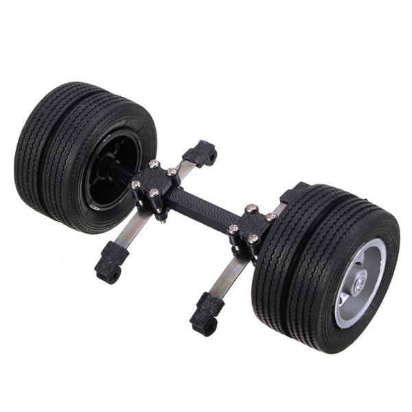 1:24 heavy truck axle tyre un-driven part rc car part...