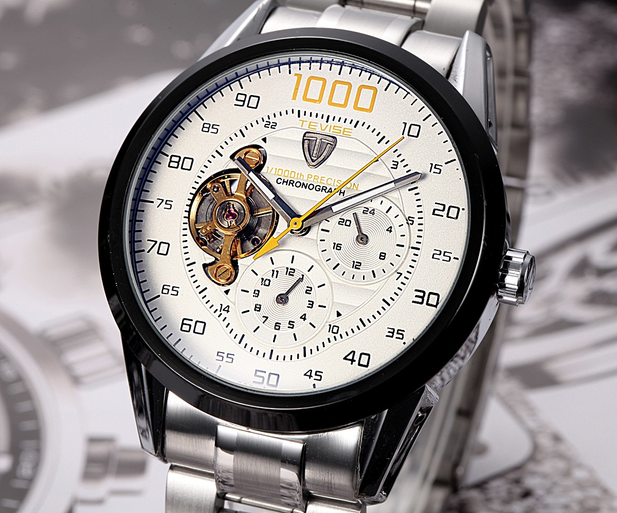 Tevise 8378 Mechanical Watch