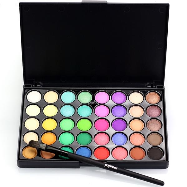 POPFEEL 80 Colors Mini Eyeshadow Palette Set Kit Matte