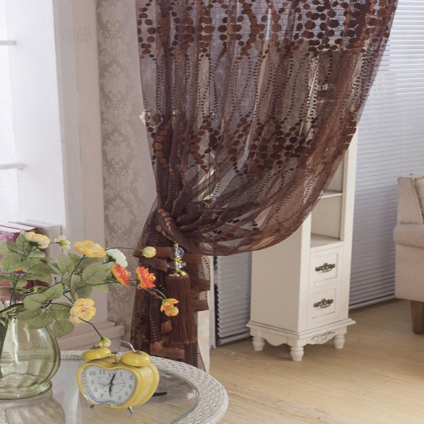 2 panneau respirant fen tre creux sur criblage voilages for Decoration fenetre voilage