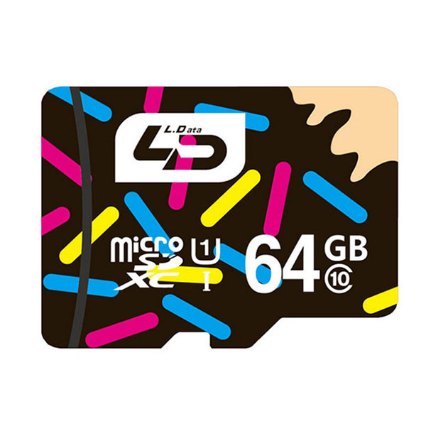 LD 64GB Class 10 Micro SD TF Micro SD Card For Mobile Phone micro sd transflash