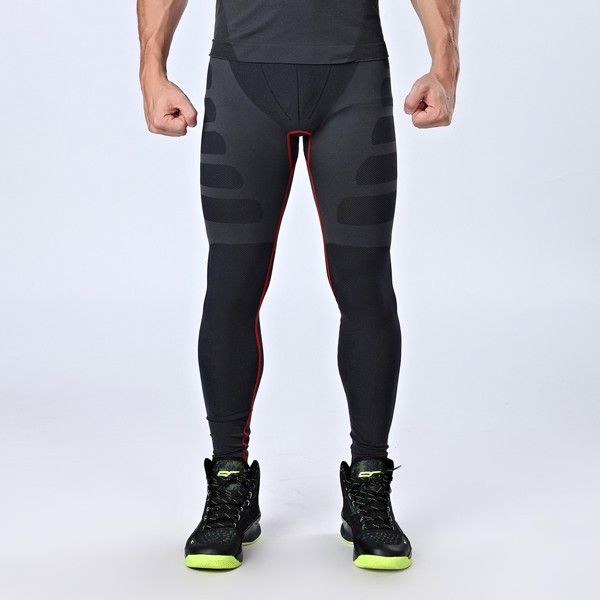 Mens Professional Sports Compression Tights Quick Dry Breathable Sports Pants Sportswear