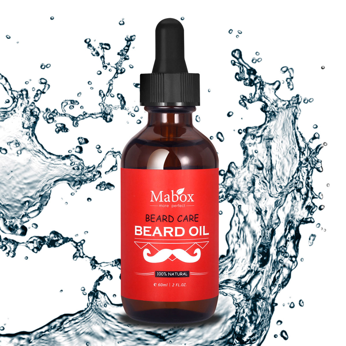 60ml Beard Oil Wax Conditioner for Men