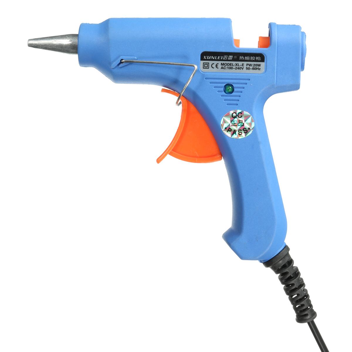 20W Professional Trigger Electric Hot Melt Glue Gun for Hobby Craft Art Mini DIY