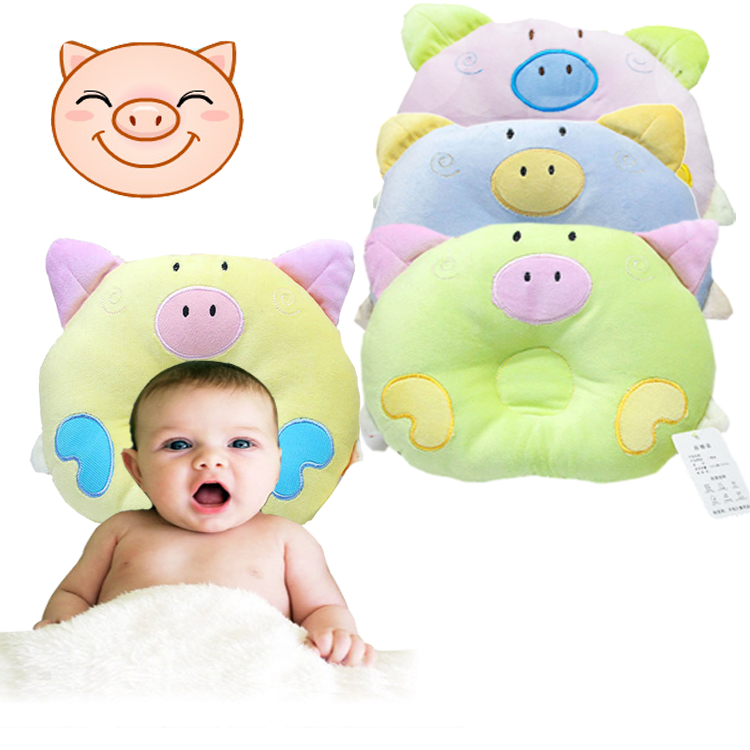 Baby Infant Newborn Sleep Positioner Support Pillow Cushion Prevent Flat Head 0- - USUSD6.37