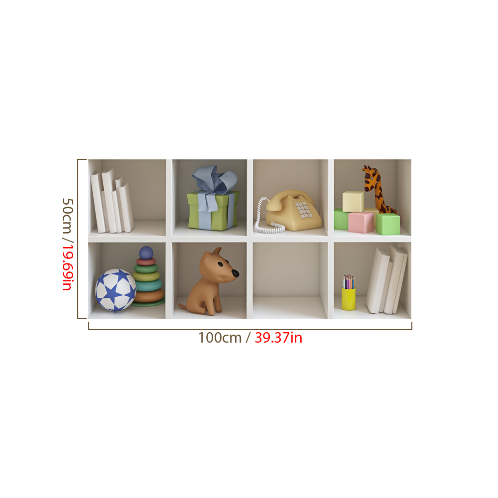 Cabinet 3d riding lattice wall decals pag removable wall for Room decor gifts