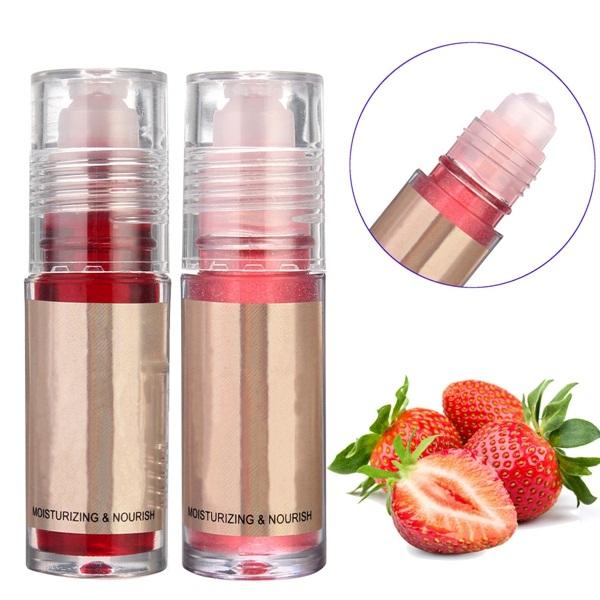 Buy Shining Fruity Moisturizing Lipstick Nourish Roll On Moisture Long Lasting Lip Gloss Makeup Stick