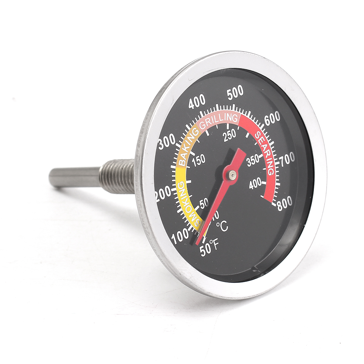BBQ Thermometer Temperature Controller Fahrenheit Replacement Smokey  #C7A904
