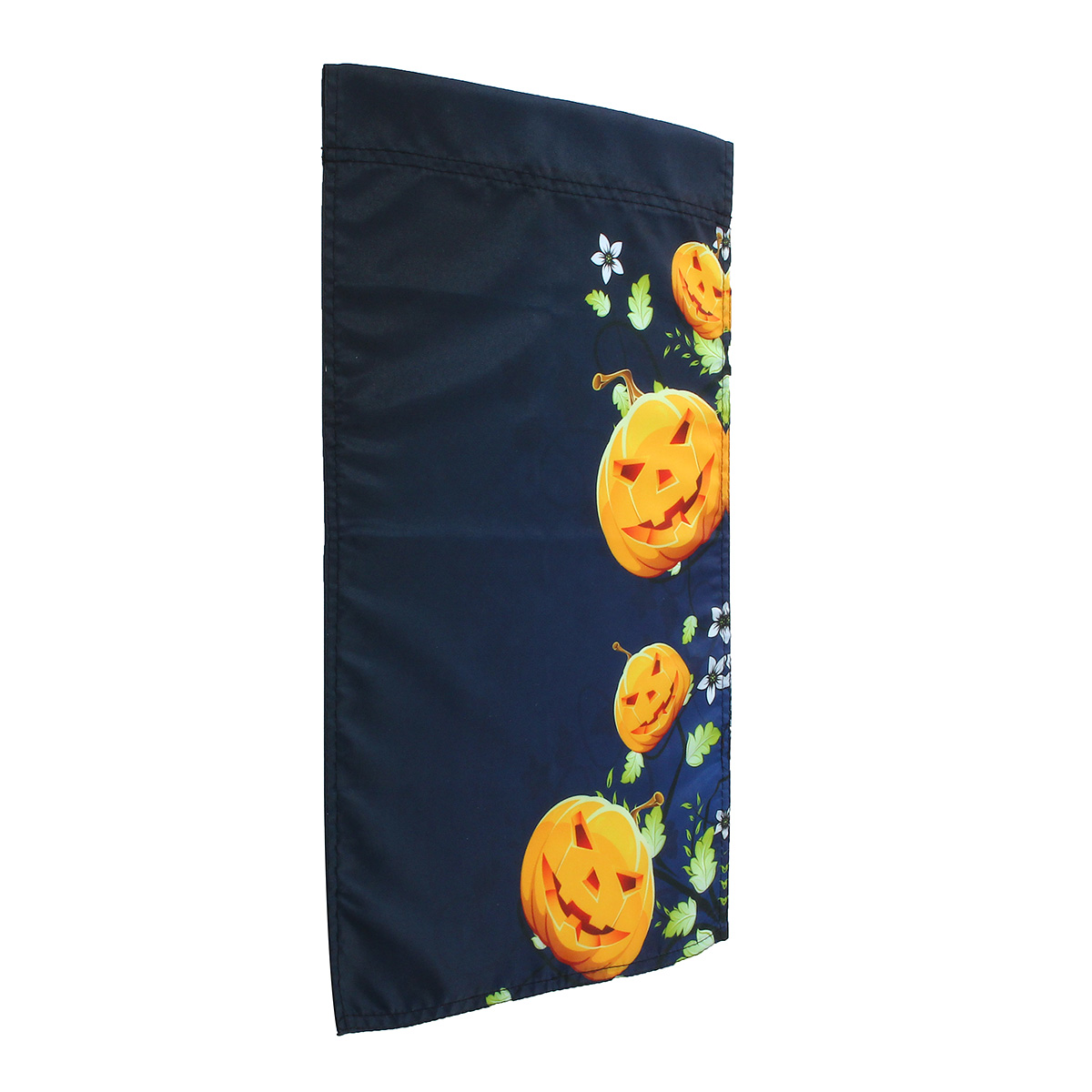 30x45cm Halloween Polyester Pumpkins Flower Flag Garden Holiday Decoration