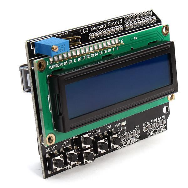 ArduinoにLCDを接続し文字を表示