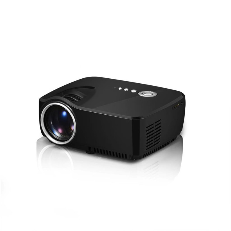 Fuleadture Portable Led Projector 1080p Hd Multimedia: GP70 LCD Portable LED Projector 1080P Full HD 1200 Lumens