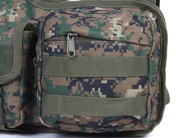 Men Bag, Oxford Tactical Camouflage, Multifunctional Photography Climbing, Shoulder Crossbody Bag