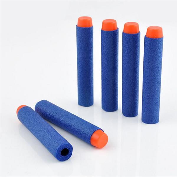 100PCS Refill Yellow Bullets Dart For Nerf N-strike Elite Rampage Retaliator Series Blasters - Photo: 6