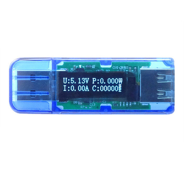 RD OLED USB2.0 QC2.0 3-bit Tester Voltage Current Power Capacity Detec