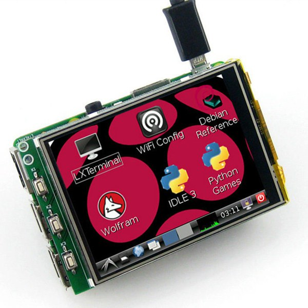 3.2 Inch TFT LCD Display Module Touch Screen For Raspberry Pi B+ B A+ от Banggood INT