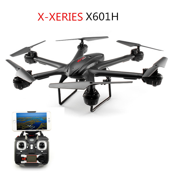MJX X601H X-XERIES WIFI FPV With 720P HD Camera Altitude Hold Mode RC Hexacopter RTF large wifi fpv ufo rc drone i550hw 2 4g 45cm 6 axis altitude hold fpv rc quadcopter with 720p full hd wifi camera add vr glass