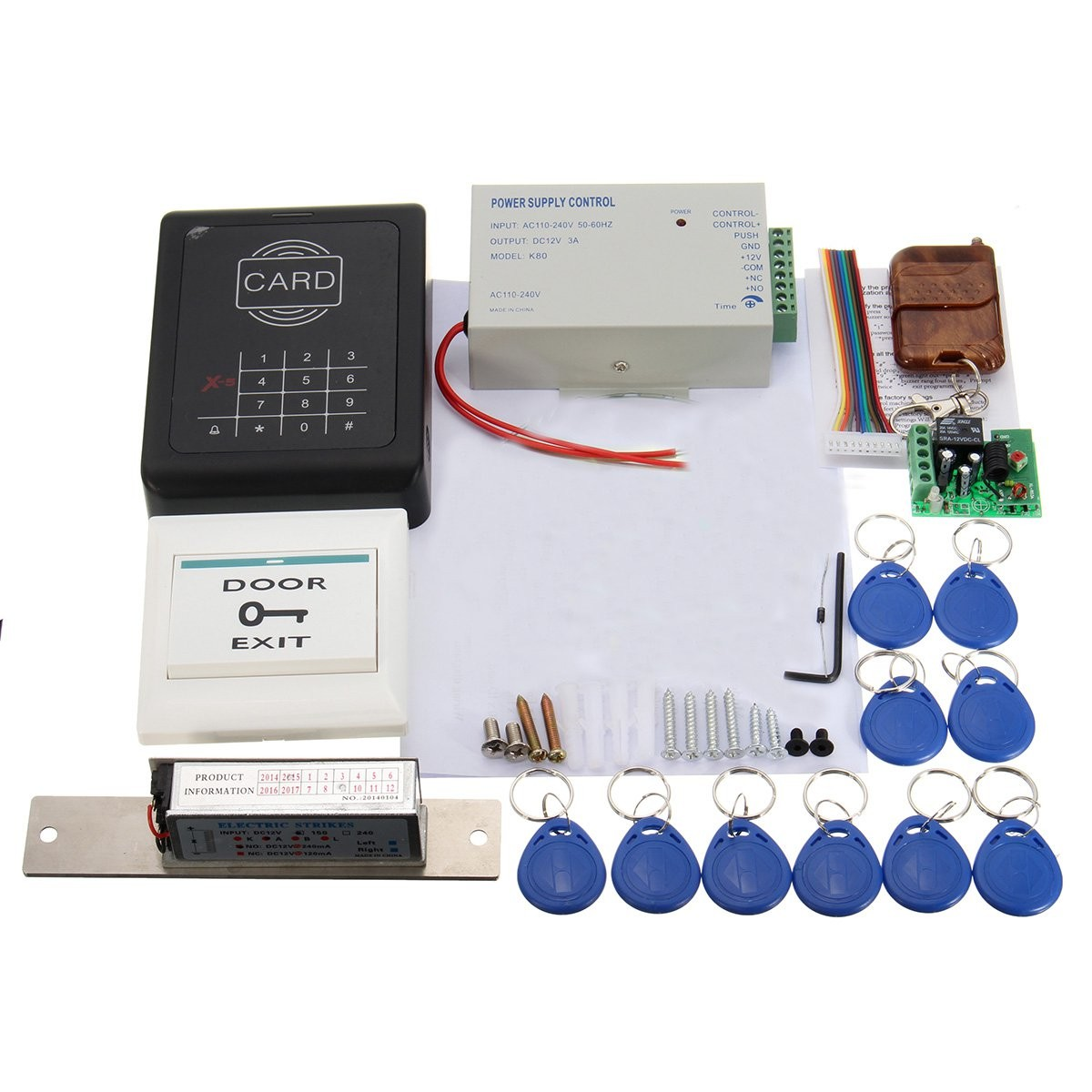 mjpt001 electric door lock magnetic rfid entry access