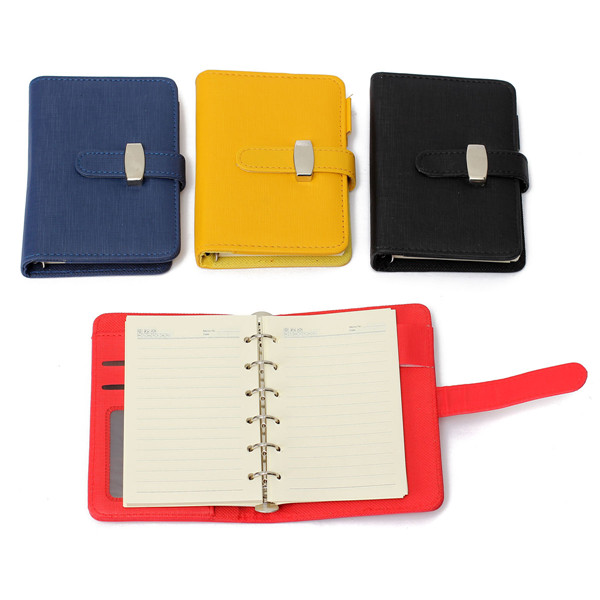 Buy A7 Pocket PU Leather Cover Notebook Diary Filofax Personal Organiser Planner