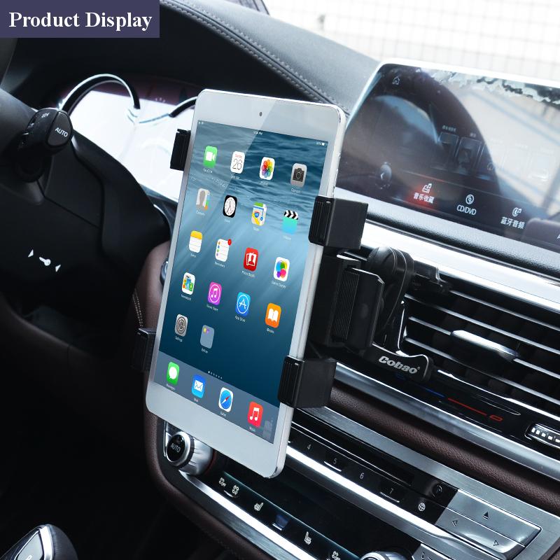 universal car air vent mount tablet holder stand for 7 10 tablet gps ipad 1 2 us sold out. Black Bedroom Furniture Sets. Home Design Ideas