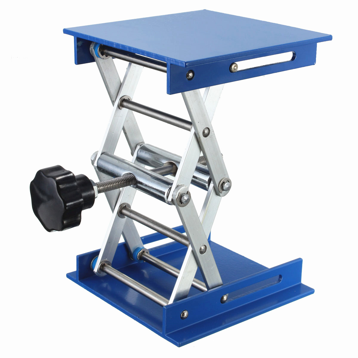 4×4 inch Lab Lifting Platforms Stand Rack Scissor Lab Lifting Aluminum Oxide Jack Lift - visiocology.com - Texas