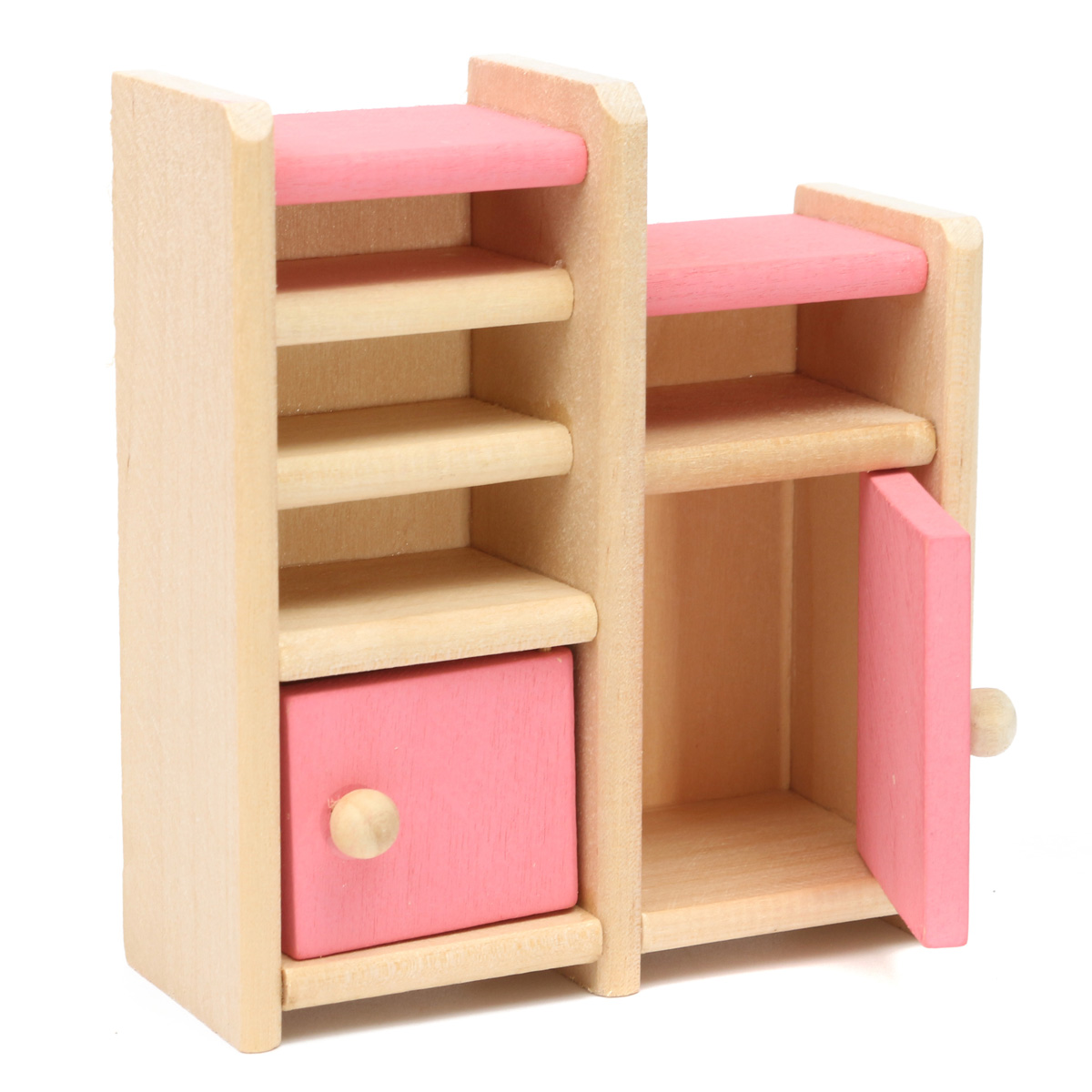 Wooden Doll Set Children Toys Miniature House Family Furniture Kit Accessories At Banggood