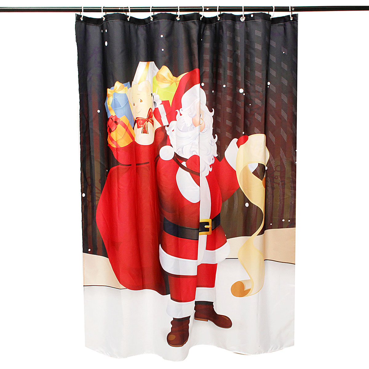 Christmas Bathroom Decor Target : Other bathroom cm santa claus waterproof shower