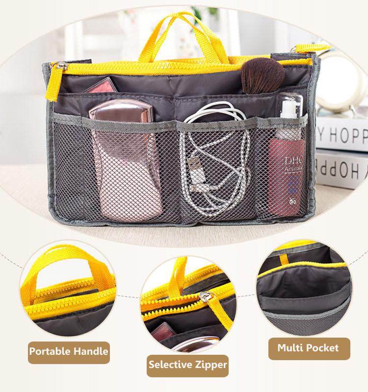 Honana HN-B1 Viagem Higienista Organizador Armazenamento Bag Wash Cosmetic Bag Maquiagem Armazenamento Case