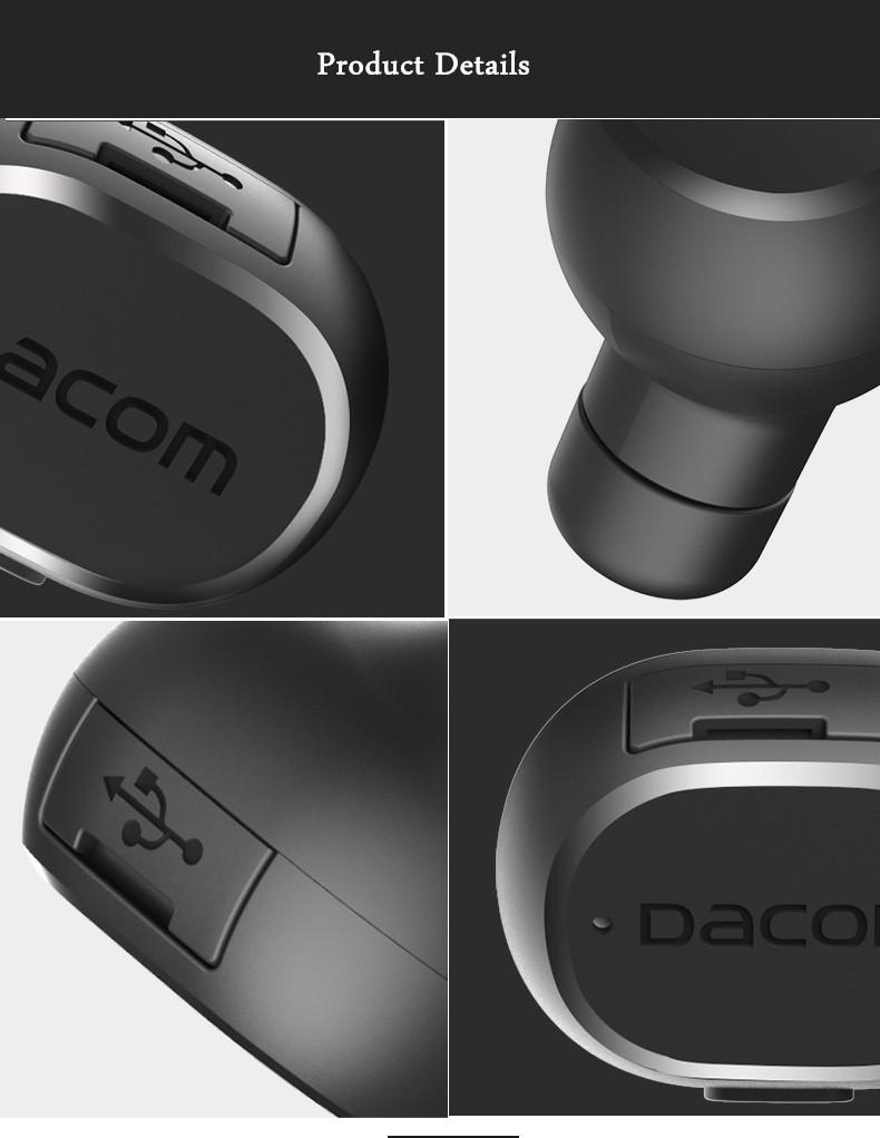 Dacom K28 мини спорта стелс беспроводной Bluetooth наушники наушники с микрофоном