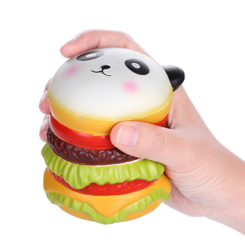 Squishy Order : Vlampo Squishy Panda Hamburger 10cm Slow Rising Original Packaging Collection Gift Decor Toy ...