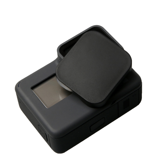 Protetive Lens Cap Cover Accessories Black for Gopro Hero 5