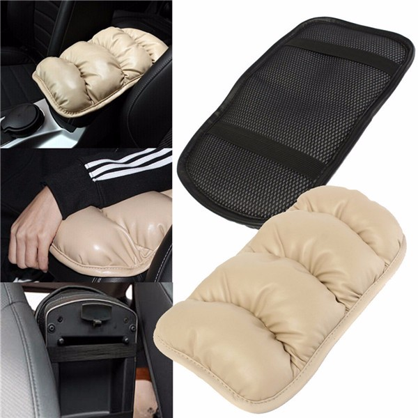 36cmx21cm Car Armrest Topping Mat Liner Pad Console Storage Box Cover Cushion xwsn custom car floor mats for mitsubishi all models asx lancer sport ex zinger fortis outlander grandi car floor mat car carpet