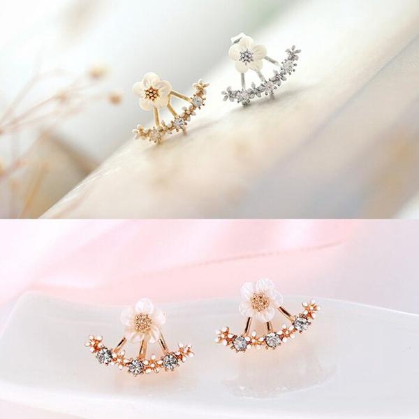 Daisy Flower Earrings