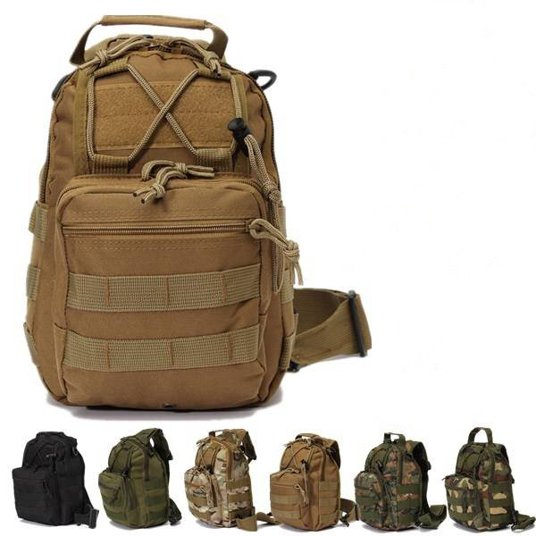 Tactical Military Backpack Single Shoulder Rucksack Camping Hiking Hunting Travel Bag