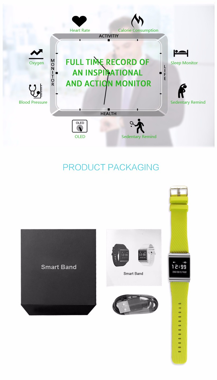 X9 PLUS Smart Bluetooth Watch Heart Rate Sensor Monitor Bracelet Wristband IP67 Waterproof Pedometer