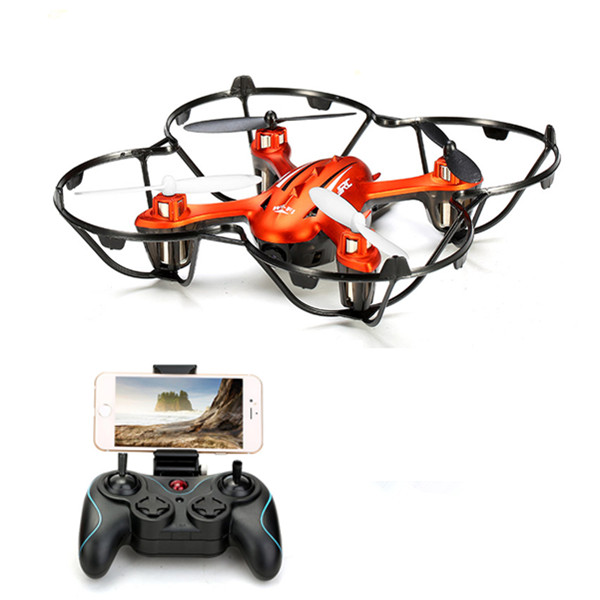 JJRC H6W WiFi FPV With 2MP Camera Headless Mode One Key Return RC Quadcopter headless mode jjrc h20w hd 2mp camera drone wifi fpv 2 4ghz 4 channel 6 axis gyro rc hexacopter remote control toys nano copters