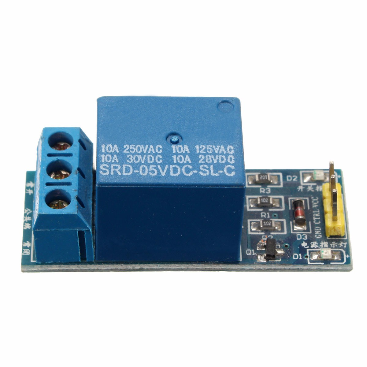8 Channel Relay Interface Module5v Dc Module For Lpt Board 5v 1 Pic Avr Dsp Arm Mcu
