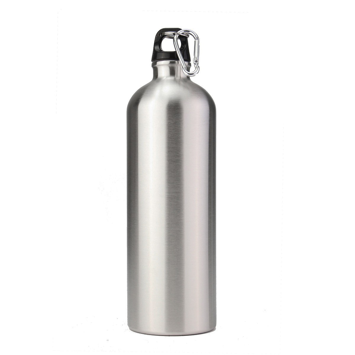 1L Camping Hiking Water Bottle Sports Stainless Steel ...