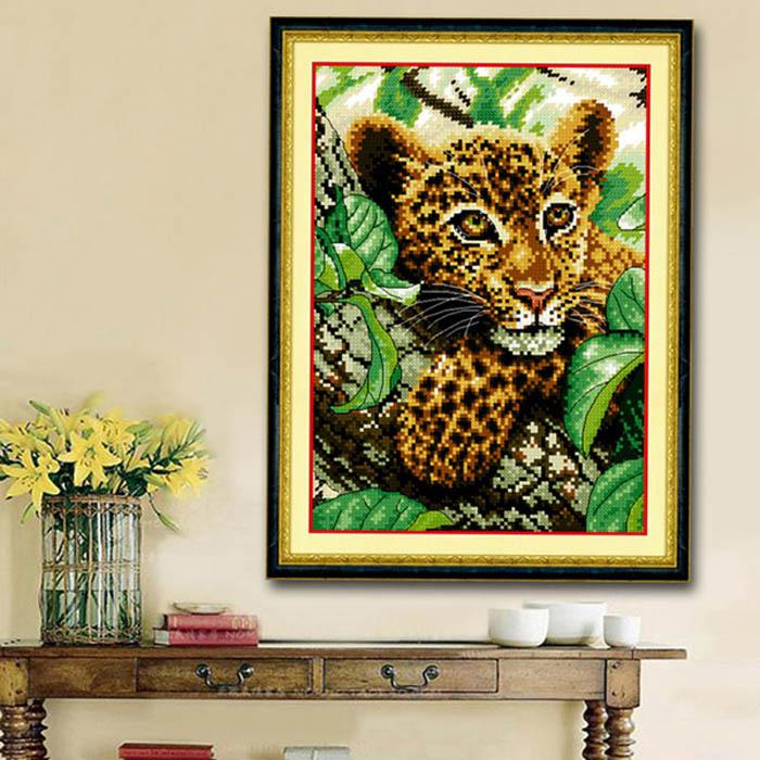 Little Leopard cross stitch